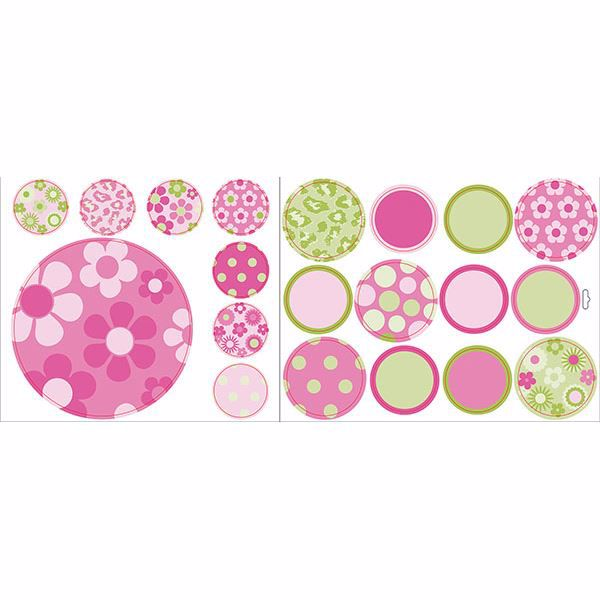 Picture of Pink Dotty Stickers