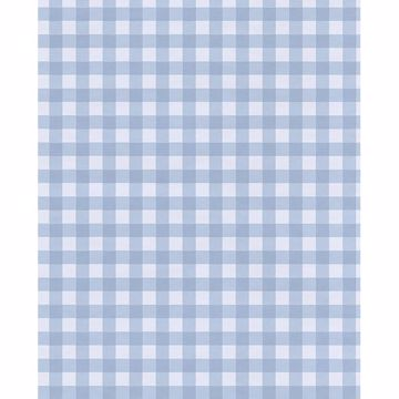 Picture of Kay Blue Vichy Check Wallpaper