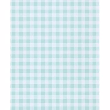 Picture of Kay Turquoise Vichy Check Wallpaper
