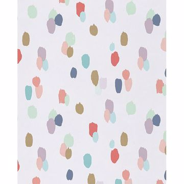 Picture of Amalie Ecru Painted Dots Wallpaper