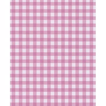 Picture of Kay Pink Vichy Check Wallpaper