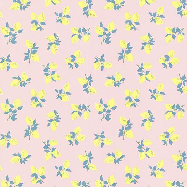 359163 Citron Pink Juicy Lemon Wallpaper By Eijffinger