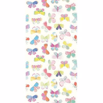 Picture of White Butterflies In My Stomach Wall Mural