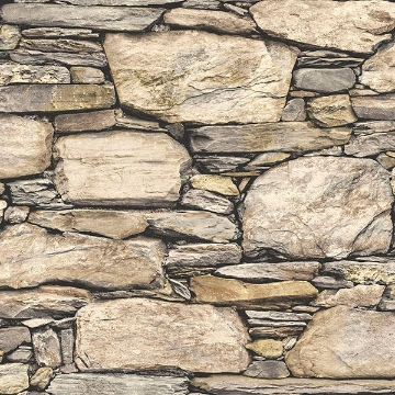 Picture of Hadrian Stone Wall Peel And Stick Wallpaper