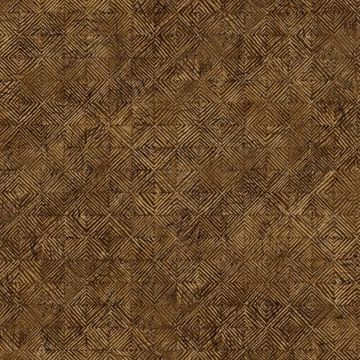 Picture of Brown Textured Geometric Wallpaper