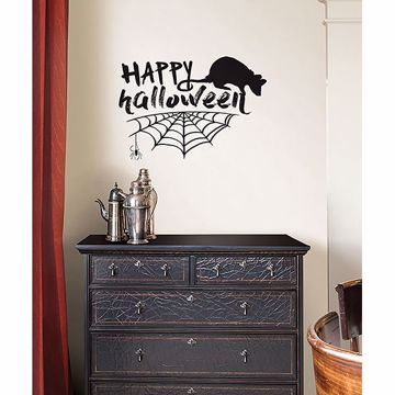 Picture of Happy Halloween Wall Quote Decals