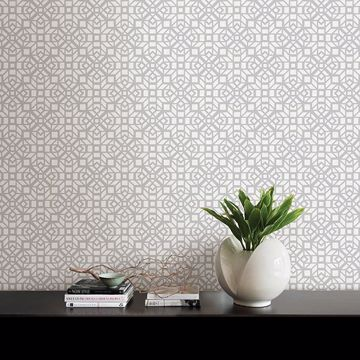 Picture of Element Grey Mosaic Wallpaper