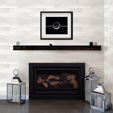 Picture of Titan White Wood Wallpaper