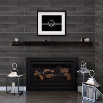 Picture of Titan Black Wood Wallpaper