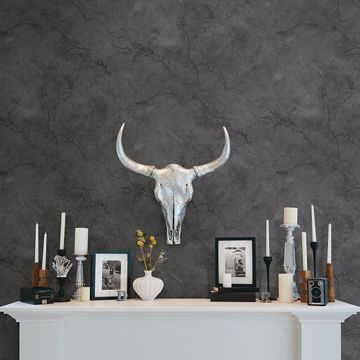 Picture of Innuendo Black Marble Wallpaper