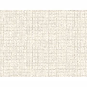 Picture of Woven Summer White Grid Wallpaper