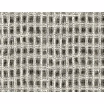 Picture of Woven Summer Charcoal Grid Wallpaper