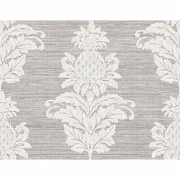 Picture of Pineapple Grove Gold Damask Wallpaper