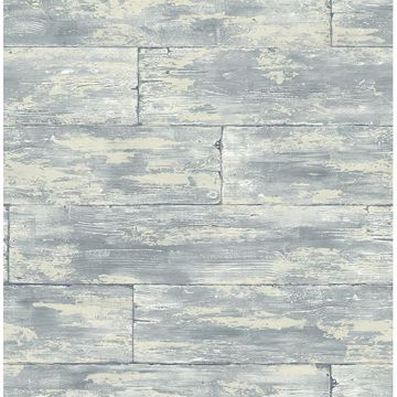 Picture of Shipwreck Grey Wood Wallpaper