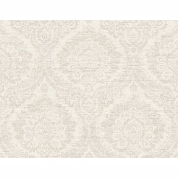 Picture of Kauai Beige Damask Wallpaper
