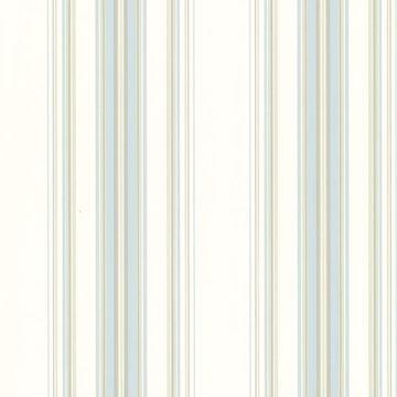 Picture of Lenna Blue Jasmine Stripe Wallpaper