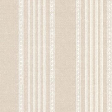 Picture of Adria Linen Jacquard Stripe Wallpaper