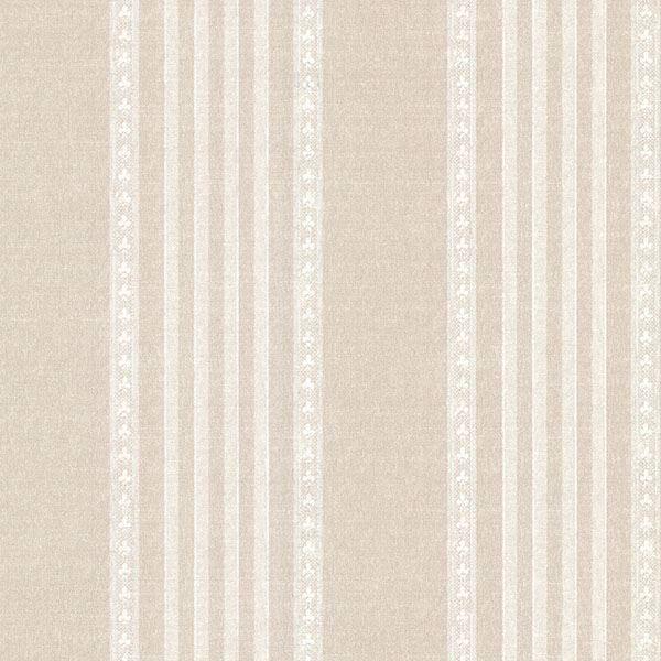 Picture of Adria Linen Jacquard Stripe Wallpaper