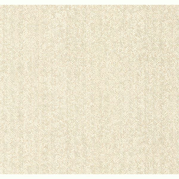 Picture of Hound Beige Herringbone Wallpaper