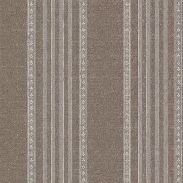 Picture of Adria Chocolate Jacquard Stripe Wallpaper