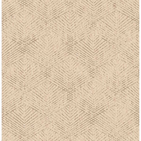 Picture of Tangent Neutral Geometric Wallpaper