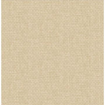 Picture of Hip Beige Ogee Wallpaper