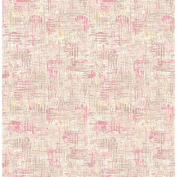 Picture of Avalon Magenta Weave Wallpaper