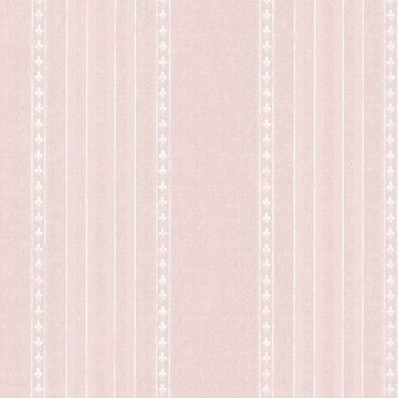 Picture of Adria Blush Jacquard Stripe Wallpaper