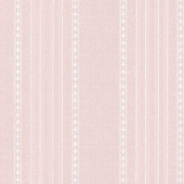 Picture of Adria Blush Jacquard Stripe Wallpaper