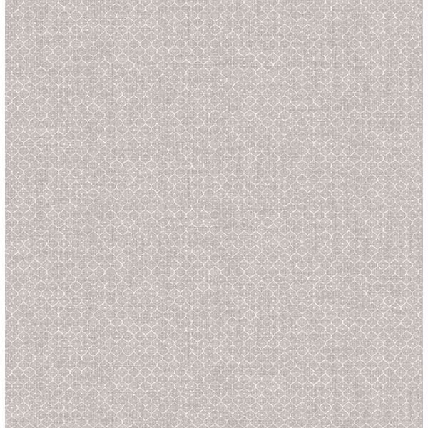 Picture of Hip Pewter Ogee Wallpaper