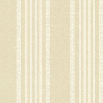 Picture of Adria Champagne Jacquard Stripe Wallpaper