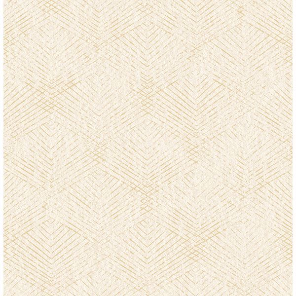 Picture of Tangent Gold Geometric Wallpaper