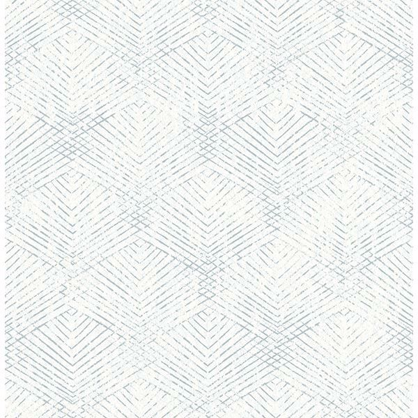 Picture of Tangent Teal Geometric Wallpaper