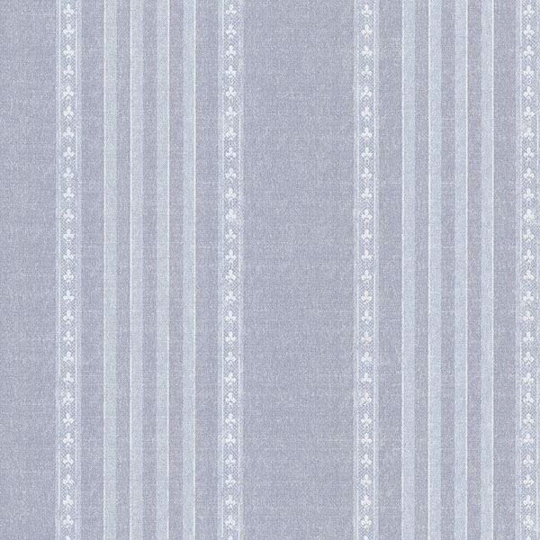 Picture of Adria Blue Jacquard Stripe Wallpaper
