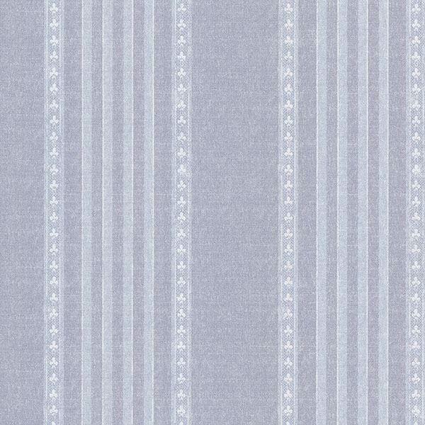 Picture of Adria Blue Jacquard Stripe Wallpaper