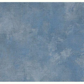 Picture of Sage Hill Dark Blue Texture Wallpaper
