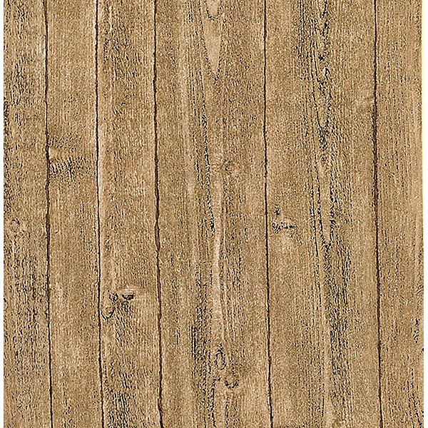 Picture of Orchard Taupe Wood Panel Wallpaper