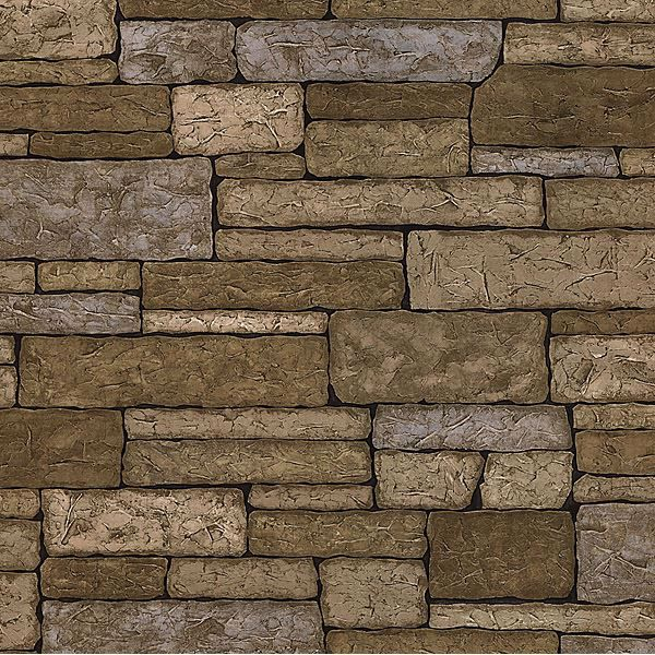 Picture of Clayton Neutral Stone Texture Wallpaper