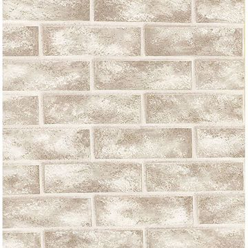 Picture of Urbania White Brick Texture Wallpaper