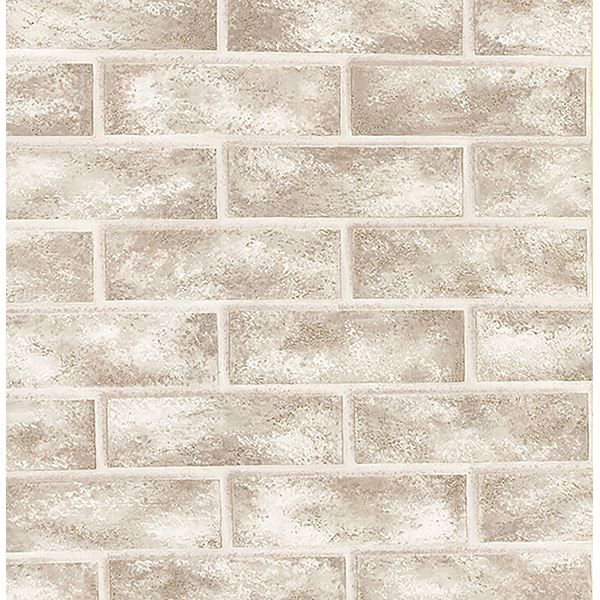 Picture of Urbania White Brick Texture Wallpaper