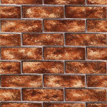 Picture of Urbania Red Brick Texture Wallpaper