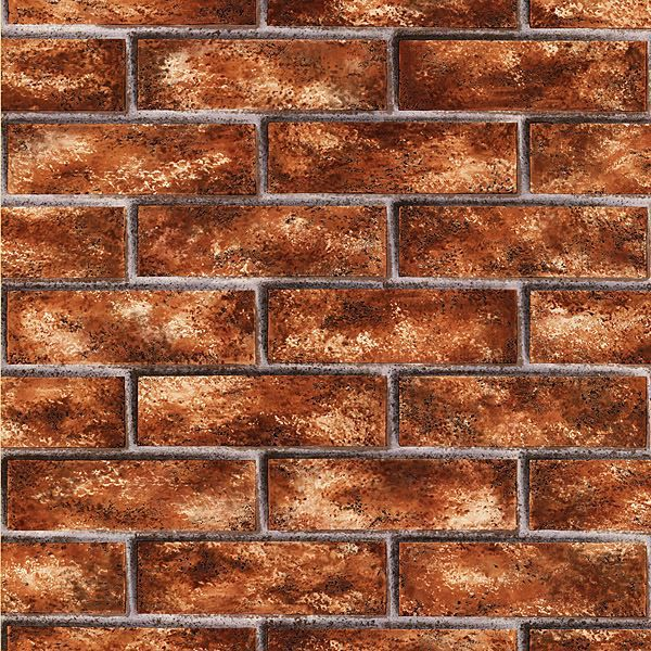 Picture of Urbania Red Brick Texture Wallpaper