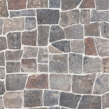 Picture of Flagstone Grey Slate Path Wallpaper