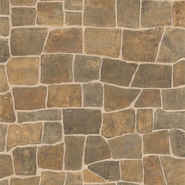 Picture of Flagstone Taupe Slate Path Wallpaper