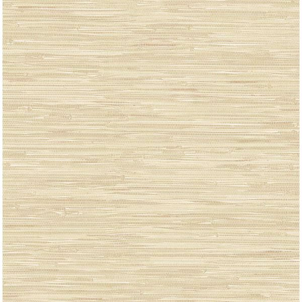 Picture of Natalie Taupe Faux Grasscloth Wallpaper