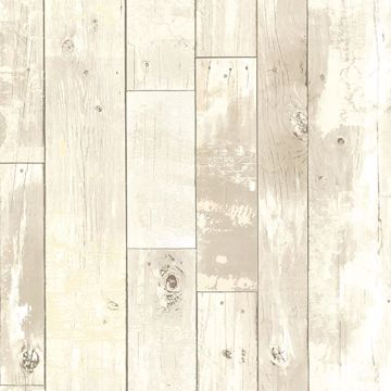 Picture of Ashwile Taupe Wood Wallpaper