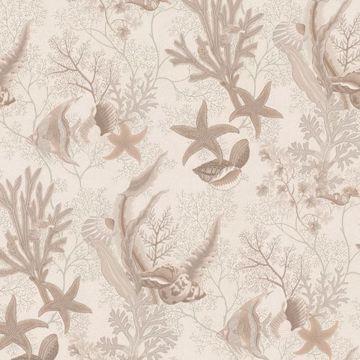 Picture of Percival Beige Ocean Scenic Wallpaper