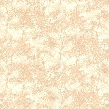 Picture of Lacey Taupe Tree Forest Wallpaper