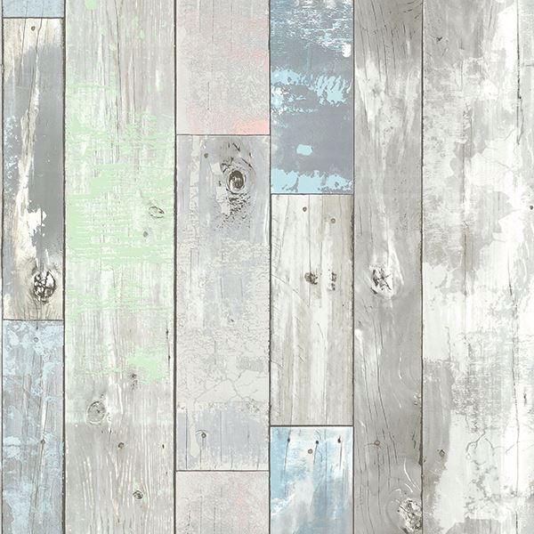 Picture of Ashwile Blue Wood Wallpaper