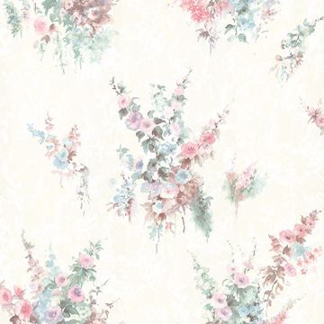 Picture of Quinn Pink Bouquet Floral Wallpaper
